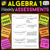 Algebra 1 Assessments or Quizzes FREE