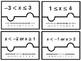 Algebra 1 - Compound Inequalities Puzzles
