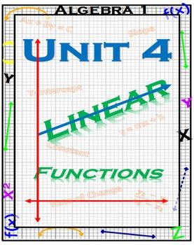 Algebra 1 - Linear Equations - Complete Unit - FREE SAMPLE