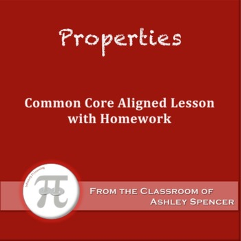 Properties (Lesson Plan with Homework)