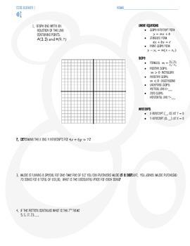 Algebra 1 Review