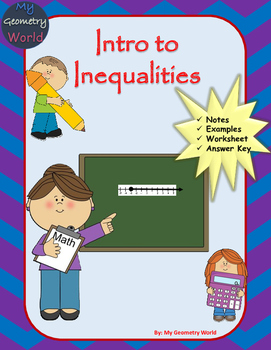 Algebra 1 Worksheet: Intro to Inequalities