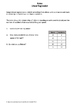 Algebra 1 Worksheet: Linear Regression