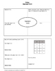 Algebra 1 Worksheet: Standard Form