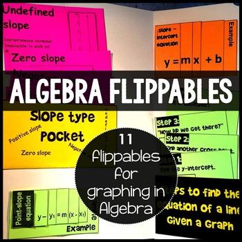 Algebra Graphing Flippables