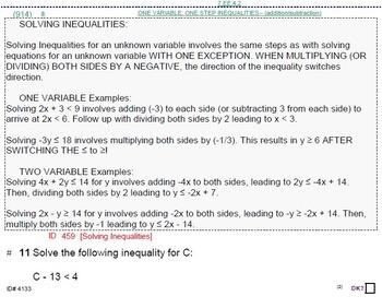 HS [Remedial] Algebra 1B FULL textbook-less course or BUND
