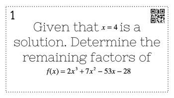 Algebra 2 Quadratics, Polynomial, Rational, & Radical Func