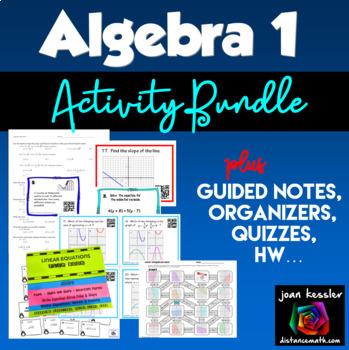 Algebra Bundle of Activities