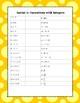 Algebra Common Core Sprint 1: Operations with Integers