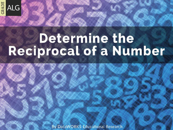 Algebra - Determine the Reciprocal of a Number (EDI)