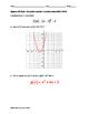 Algebra EOC Quiz - Quadratic Function Translations BUNDLE
