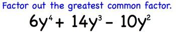 Factor Cubic Polynomials