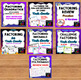 Algebra   Factoring  Bundle of 6 Resources *Task Cards* Quiz* HW