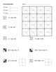 Algebra Factoring Review Coloring Worksheet