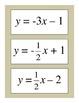 Algebra: Graphing Linear Equations BINGO Game