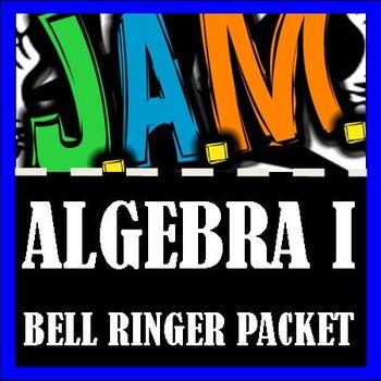 Algebra I Bell Ringer Packet (Complete Fourth 9 weeks) Do