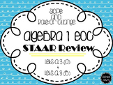 Algebra I EOC STAAR Review: Slope and Rate of Change