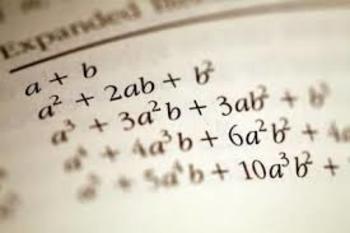Algebra I Final Exam (70 Q)