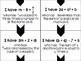 Algebra I and Grade 8 Middle School Math Writing Equations