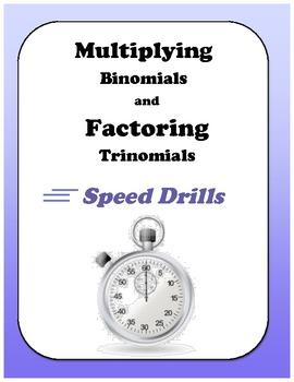 Algebra: Multiplying Binomials and Factoring Trinomials Sp