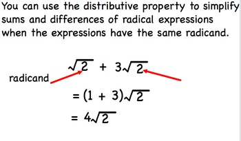 Operations with Radical Expressions