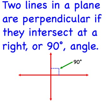 Perpendicular Equations