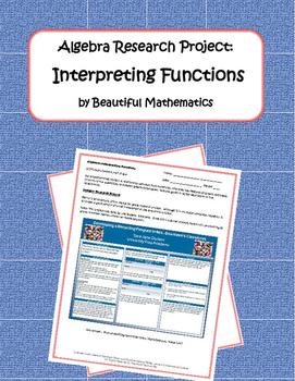 Algebra Research Project: Interpreting Functions