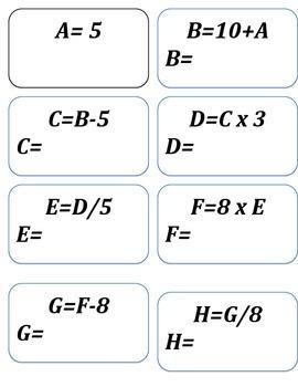Algebra Telephone