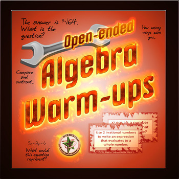 Algebra Warmups: Open Ended Questions