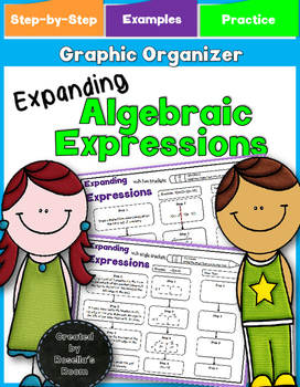 Algebraic Expressions - Expanding Graphic Organizer