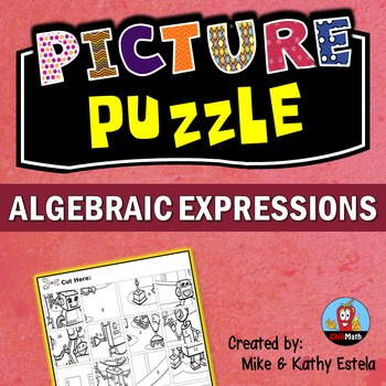 Algebraic Expressions Picture Puzzle