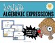 Algebraic Expressions & Reasoning Task Cards - Equations w