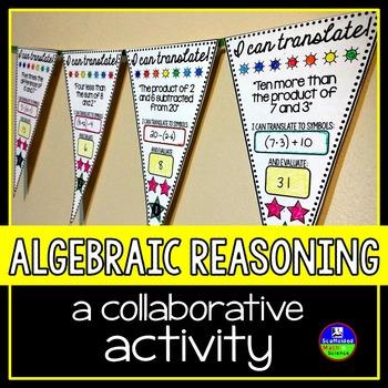 Algebraic Reasoning Pennant