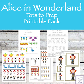 Alice Tots to Prep Pack