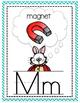 Alice in Wonderland Alphabet Classroom Set