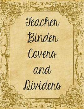 Alice in Wonderland Binder Covers FREEBIE