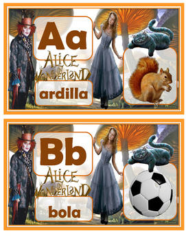Alice in Wonerland in Spanish