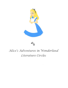 Alice's Adventures in Wonderland Literature Circle Plan