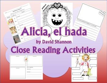 Alice the Fairy Close Reading (SPANISH)