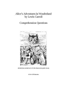 Alice's Adventures in Wonderland Comprehension Questions a