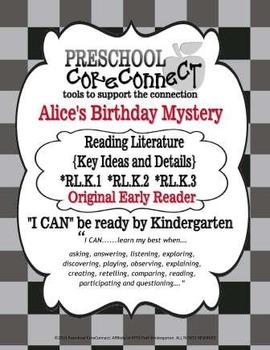 Alice's Birthday Mystery: Reading Literature {Key Ideas an