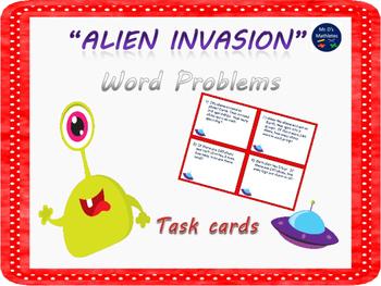Alien Invasion Word Problems