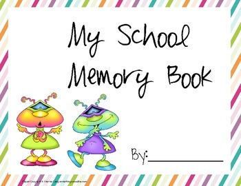 Alien Space Themed Memory Book