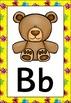 Alien Themed Alphabet Posters Frieze {UK Teaching Resource}