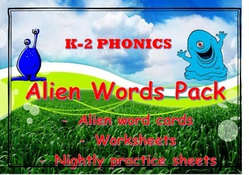 nonsense words pack