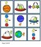 Aliens in SPACE! - Spatial Concepts Bingo Game