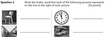 Alif Baa - Test for Units 4 to 6 (Al Kitaab Series)