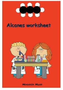 Alkanes worksheet