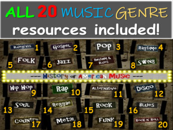 All 20 comprehensive & engaging Music History PPTs (links,