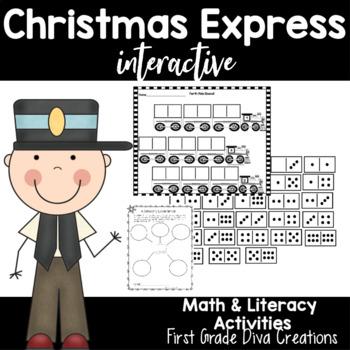 Christmas Activites ~Christmas Trains, Glyph, Christmas Wr
